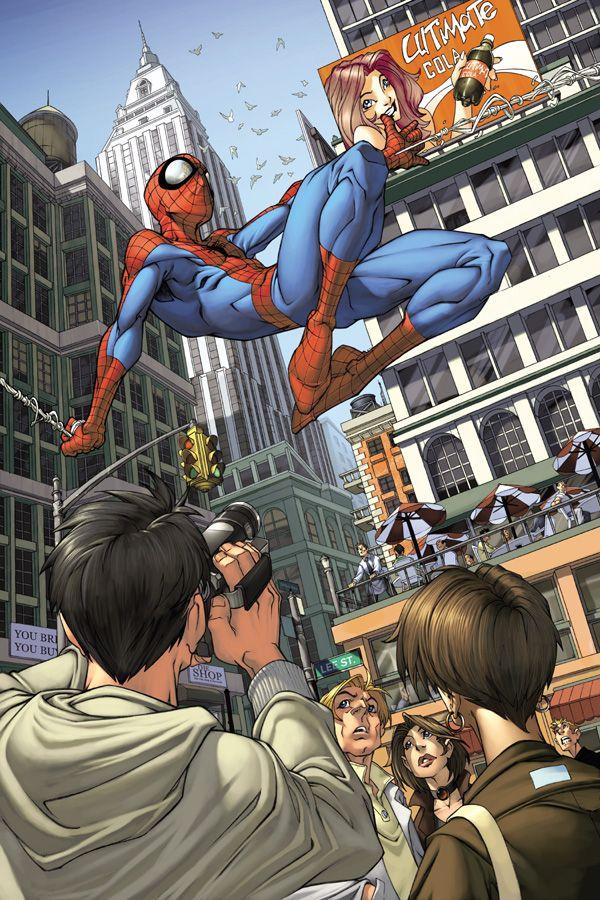 Spectacular Illustration of Spider-man
