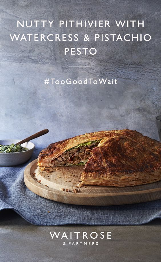 A Vegan Centrepiece Our Nutty Pithivier With Watercress