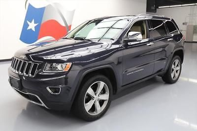 2014 Jeep Grand Cherokee Limited Sport Utility 4-Door 2014 JEEP GRAND CHEROKEE LTD 4X4 HEMI SUNROOF NAV 40K #226122 Texas Direct Auto