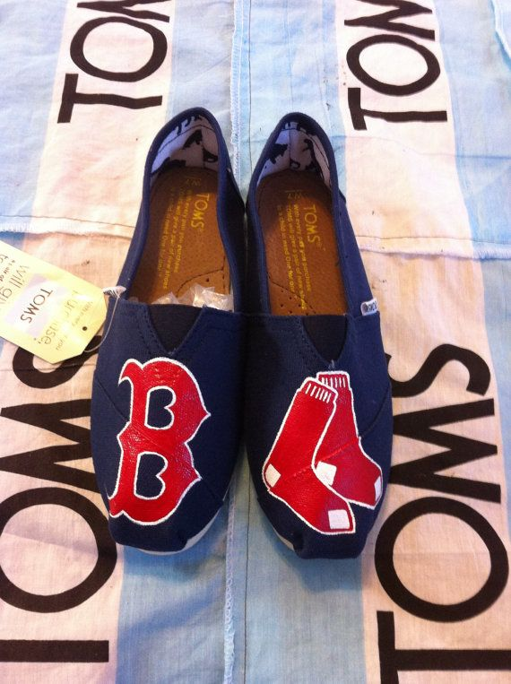 Hey, I found this really awesome Etsy listing at http://www.etsy.com/listing/119270405/custom-hand-painted-red-sox-toms