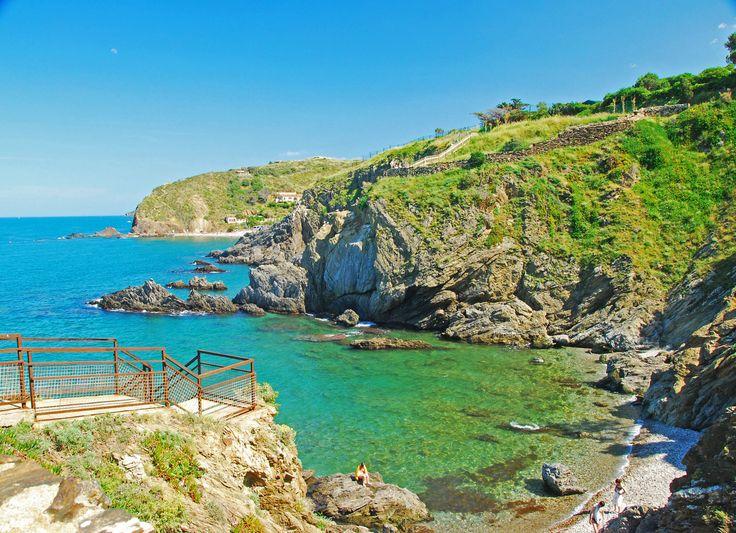 camping luxe argeles sur mer - Vue plage privée