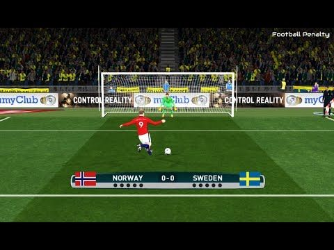 Norway vs Sweden | Penalty Shootout | PES 2017 Gameplay