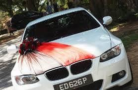 Nice wedding car decoration