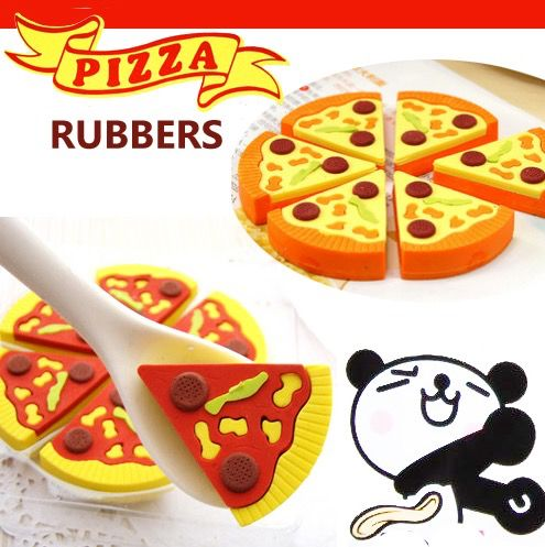 pizza rubber