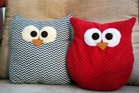 Hey, I found this really awesome Etsy listing at https://www.etsy.com/listing/169940900/cute-owl-pillows-small-mutiple-fabric