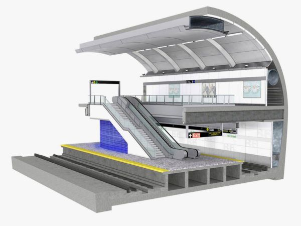 Quieter Subway Stations - Acoustic Design in Second Avenue Subway