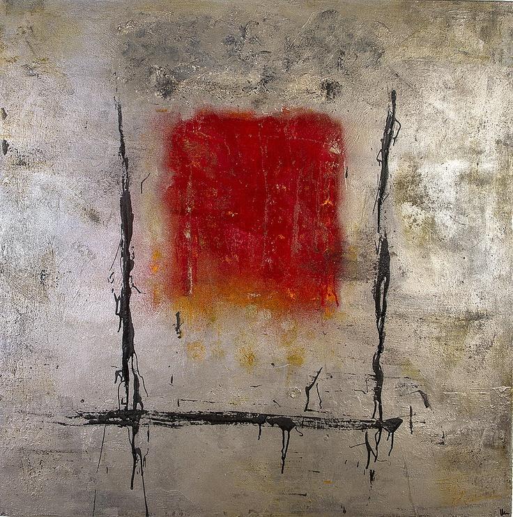 Patricia Bernar - abstract painting, pintura abastracta, mix media, tecnica mixta, encaustica, raku, pintura texturdia
