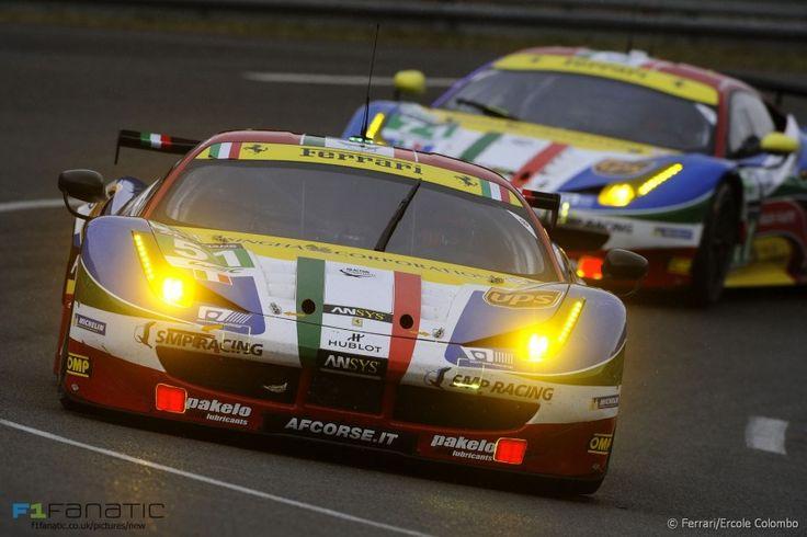 Ferrari 458 Italia #51 Gianmaria Bruni/Toni Vilander/Giancarlo Fisichella, Le Mans, 2015 - F1 Fanatic
