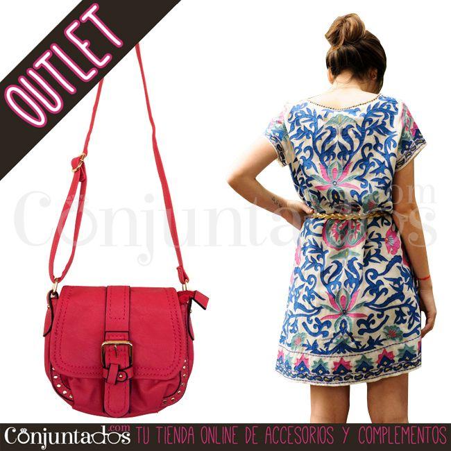 Bolso bandolera fucsia ★ 8'95 € en https://www.conjuntados.com/es/outlet/bolso-bandolera-fucsia.html ★ #outlet #liquidacion #soldes #sales #descuentos #bolso #bolsodemano #handbag #bandolera #bolsobandolera #crossbodybag #conjuntados #conjuntada #accesorios #complementos #moda #fashion #fashionadicct #picoftheday #outfit #estilo #style #GustosParaTodas #ParaTodosLosGustos