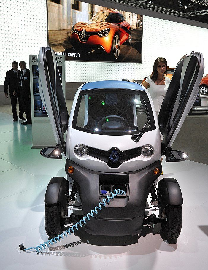 Captivating The New Renault Twizy Is The Electric City Car.