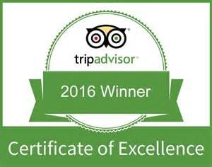 Certificate of Excellence 2016 | Black Forest Restaurant