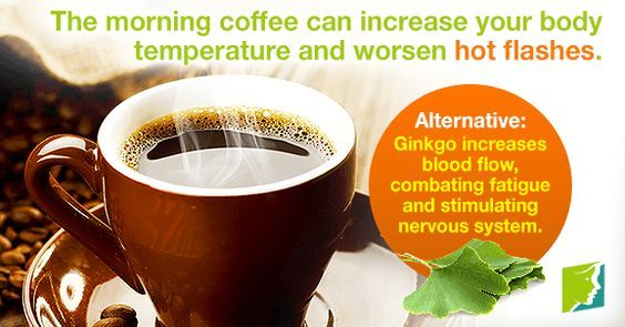Although many women are accustomed to having their morning cup of coffee, it can fuel severe, frequent, and long-lasting hot flashes.