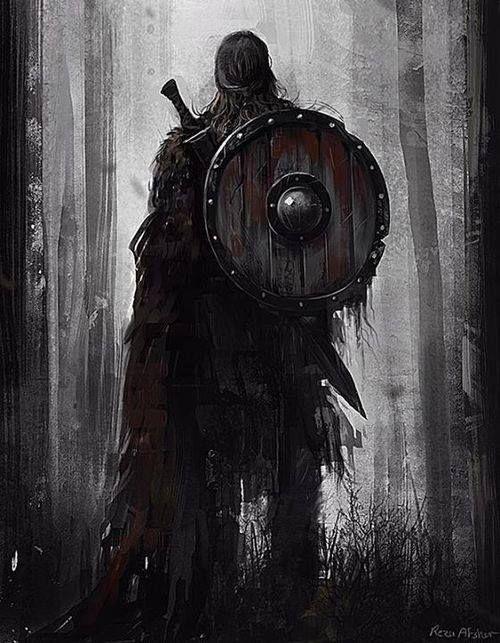 True Vikings didn't wear horns on their helmets.