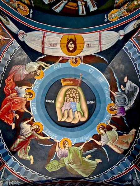 Όταν Πέντε Κοιλάδες Γνωρίστε: Δύο Ορθόδοξα Μοναστήρια και το συμβολισμό του το χέρι του Θεού σε πίνακες. Αυτό συνδέεται με τις προηγούμενες θέσεις - σημεία, σύμβολα, έννοιες και στην Τέχνη Νο (4)