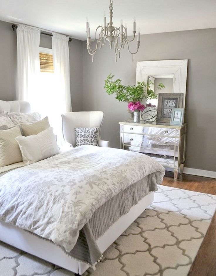 Awesome Chambre Grise Et Blanc Casse Contemporary - Home ...