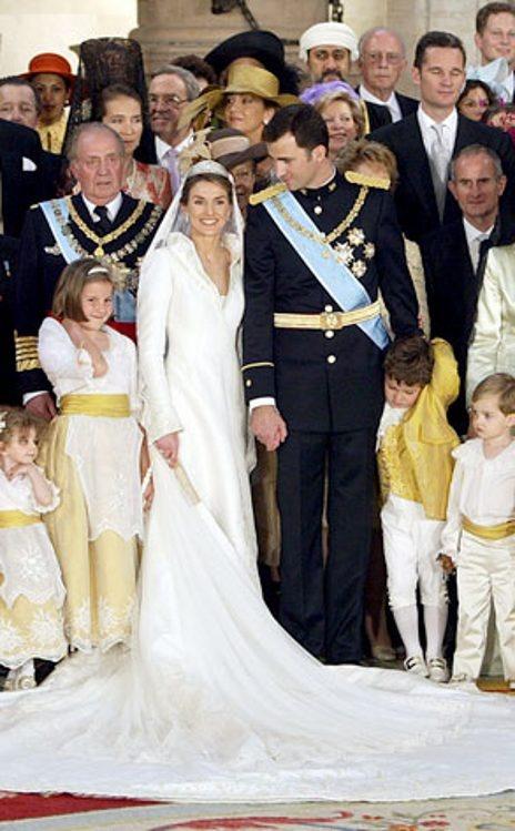 Prins Felipe en prinses Letizia Ortiz, Spanje.
