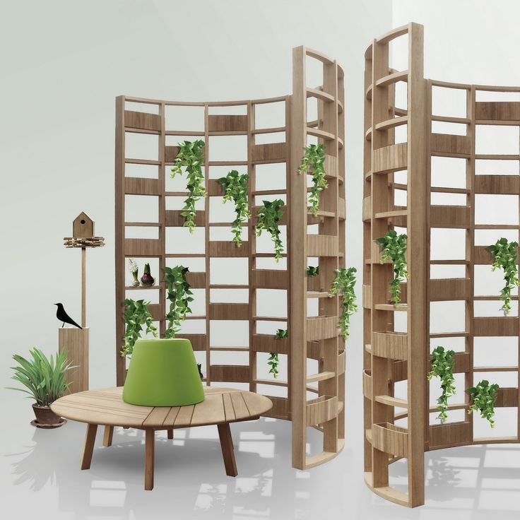 tiera bench and greenwall collection...DEESAWAT