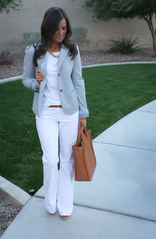 17 Best ideas about Light Blue Pants on Pinterest | Work fashion ...