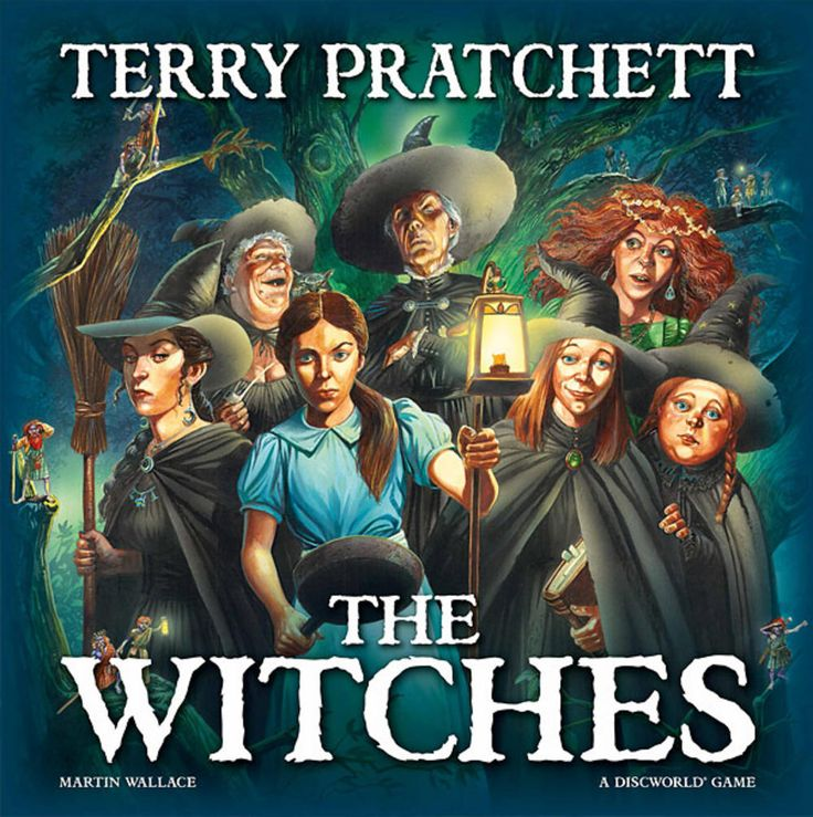 Tea versus evil: A review of the Discworld board game The Witches  #pterry #discworld