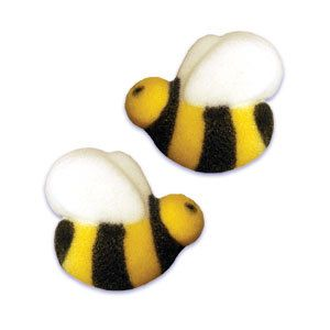 Honey Bee Sugar Cupcake Decorations 36 By BonFortune On Etsy