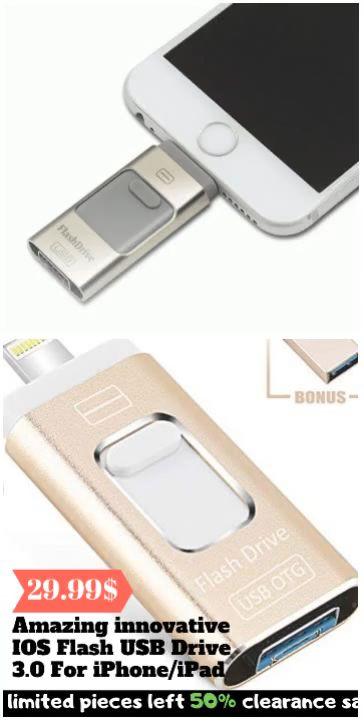 Amazing innovative IOS Flash USB Drive 3.0 For iPhone/iPad
