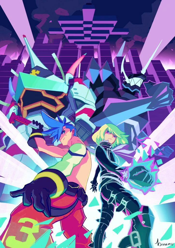 Promare Anime Wallpaper Anime Anime Shows