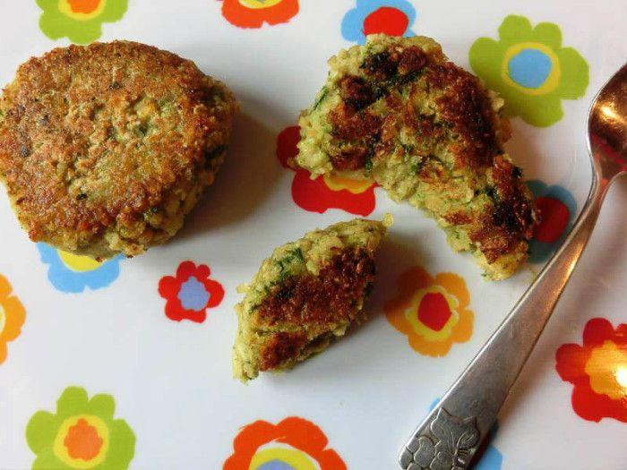 Linsenbratlinge ab 9 Monate (Linsen, Broccoli, Mandarine, Haferflocken)