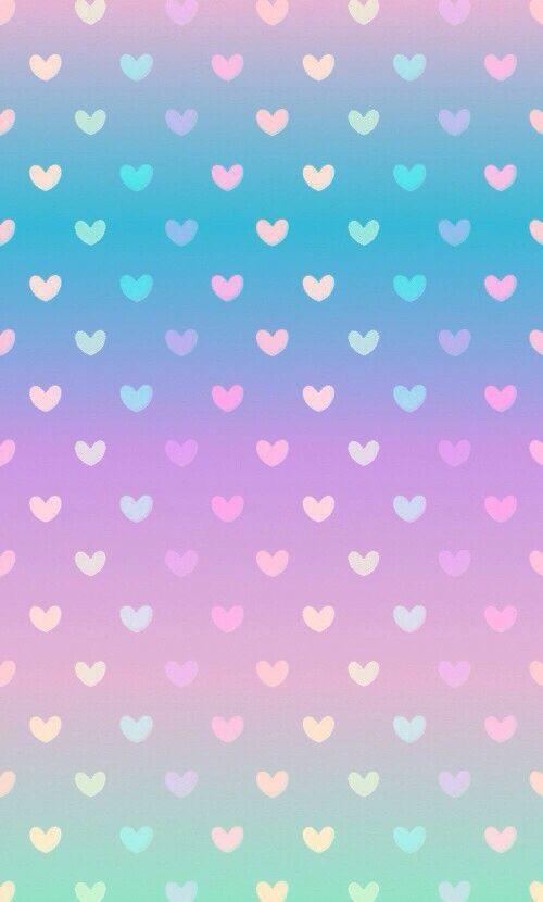 Color love heart