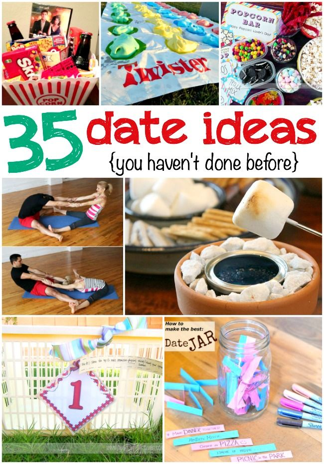 It's time for adate night!And with these totally awesomedate ideasyou'll be set for some of the best dates ever! Prepare: Make a date jarand fill it with all of the following date ideas. Read completely instructions on how to make one here. {This post may contain affiliate links for yourconvenience.} 35 Totally AwesomeDate Ideas Game...Read More »