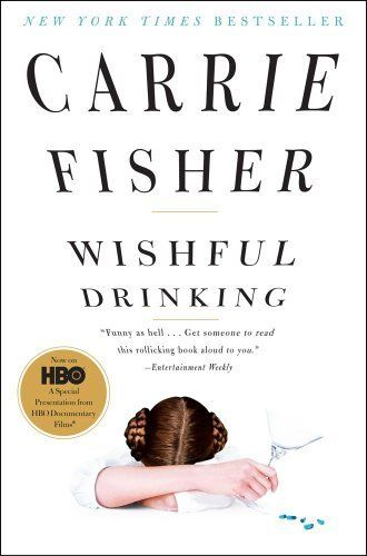 Wishful Drinking by Carrie Fisher, http://www.amazon.com/dp/B007BW9OB6/ref=cm_sw_r_pi_dp_n76Epb0YVD47G    Great book! She has such a sarcastic tone, it really made me laugh.