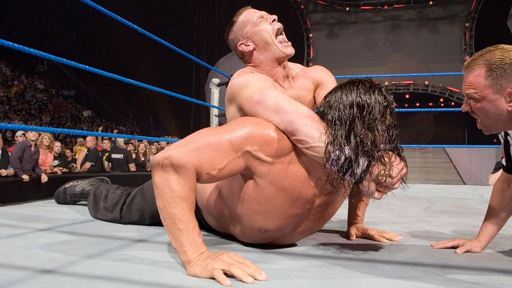 10 years later: John Cena beats The Great Khali for the WWE Title