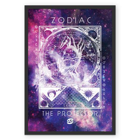 CÂNCER   THE PROTECTOR  #posters #astrology #astrologia #zodiac #zodíaco #art #signos #decor #decoração #quadros #câncer #cancer