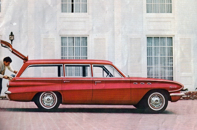 1961 Buick Special Deluxe Station Wagon: Deluxe Station, Station Wagons, Buick Special, Sedan Deliveries, Kewl Wagons, Wagon 1950, 1961 Buick, Long Roofs