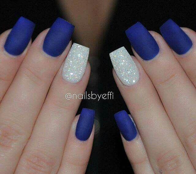 Royal blue nails - 93 Best Nails Images On Pinterest Nail Decorations, Nail Design