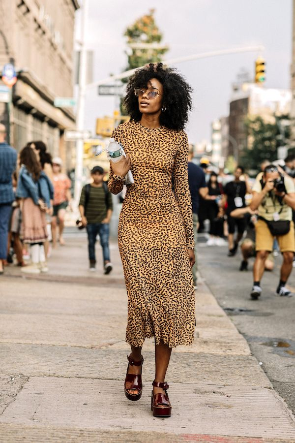 25 of the Coolest Animal Print Dresses This Season (Le Fashion)