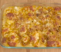 Cheesy Biscuit Chicken Bake! Yum!