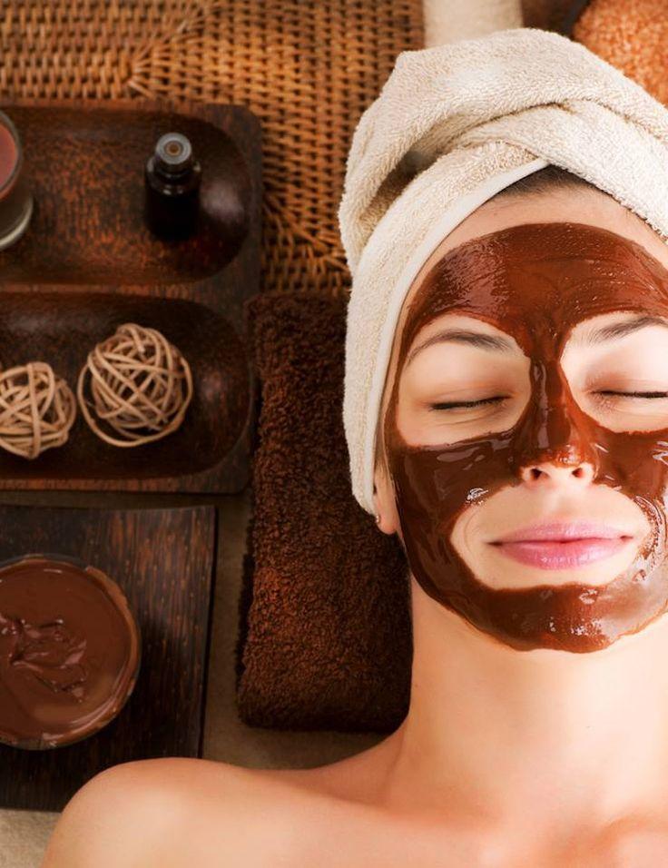 Chocolate mud mask