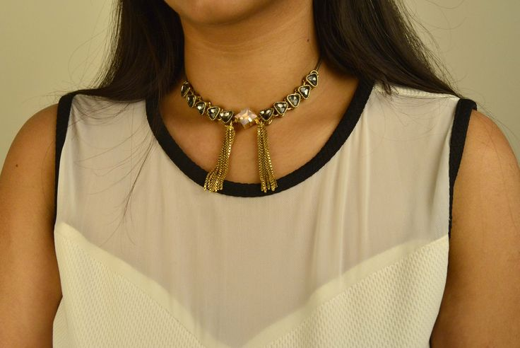 A new staple for your jewellery box, this simplistic choker is modern and sophisticated and will go with every outfit.  #fashion #fashionista #fashionbloggers #style #fashionstyle #trending #necklace #choker  #stone #trendy #love #accessory #jewellery #designer #grey #amber #shop #online #indian #wedding #getnatty #gift #birthday #anniversary #party