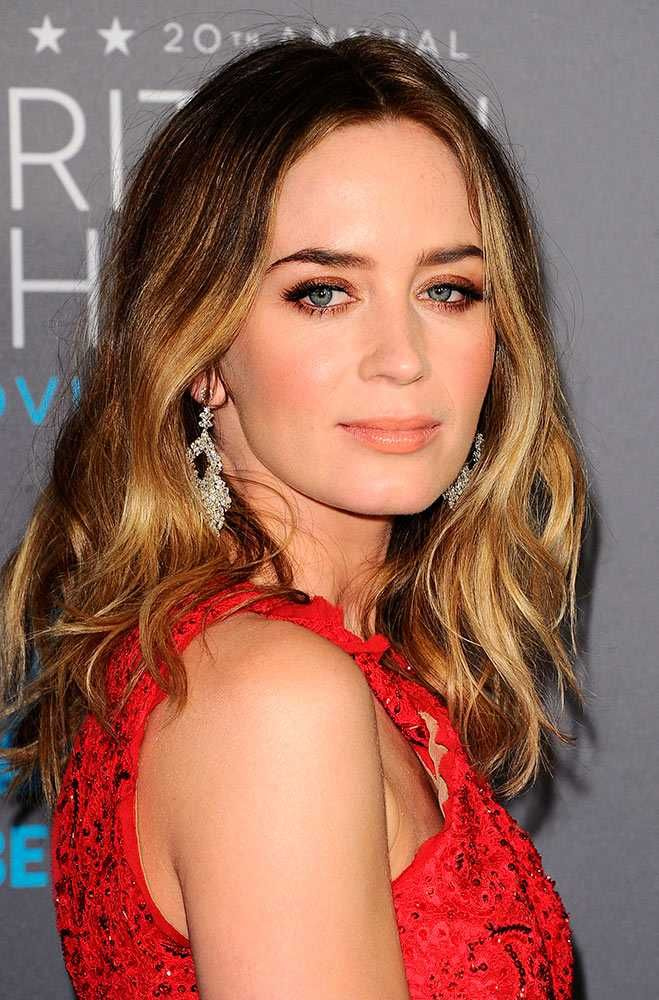 Best in Beauty: Critics' Choice Movie Awards 2015 | Emily ... Emily Blunt
