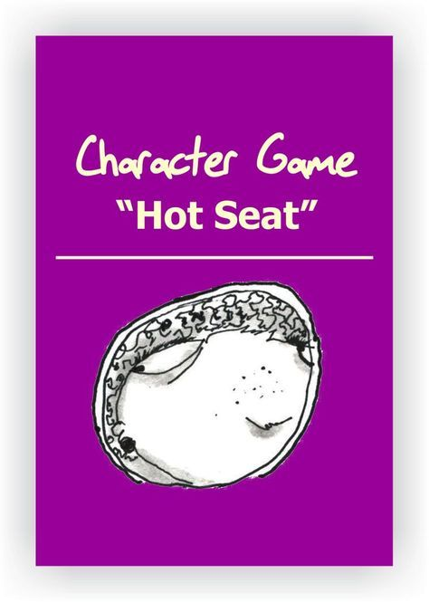 FREE DRAMA GAME~Hot Seat~ In this classic drama game, one student goes up in front of the class and assumes the role of a character or a famous person while the audience players interrogate him/her. Read more... https://www.dramanotebook.com/drama-games/h