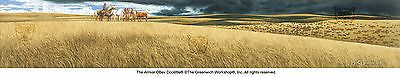 Bev Doolittle THE ARRIVAL s/n giclee print of Native Americans and buffalo