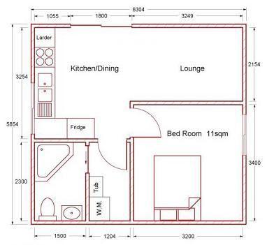Sheds for Habitation, Small Home Kits,Bungalow Kits, Small House ...