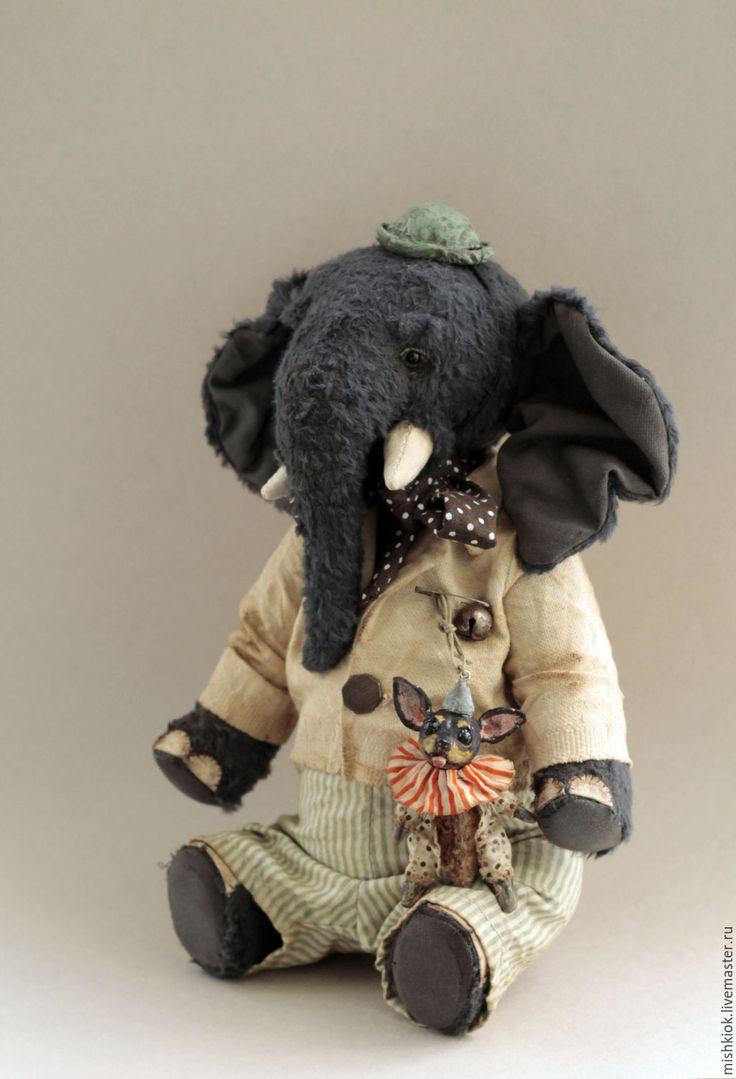 Купить По улицам Слона водили... - слон, слон и моська, слон тедди, слон игрушка