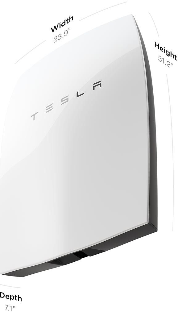 Powerwall | Tesla Motors. Powerwall is a home battery that charges using electricity generated from solar panels, or when utility rates are low, and powers your home in the evening. It also fortifies your home against power outages by providing a backup electricity supply. Automated, compact and simple to install, Powerwall offers independence from the utility grid and the security of an emergency backup.