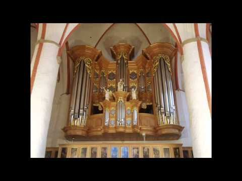 Dietrich Buxtehude Toccata in F,Bolliger on Schnitger Organ - YouTube
