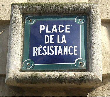 La place de la Résistance  (Paris 7ème)