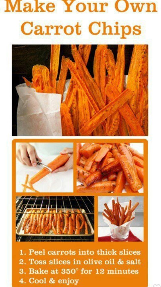 Carrot chips-should try this too