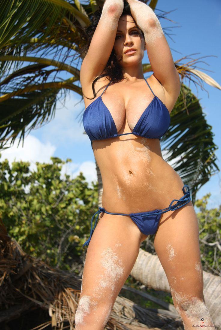 Stupid denise milani blue lingerie video