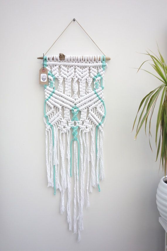 Wall Hanging Decor pinterest'teki 25'den fazla en iyi rope decor fikri