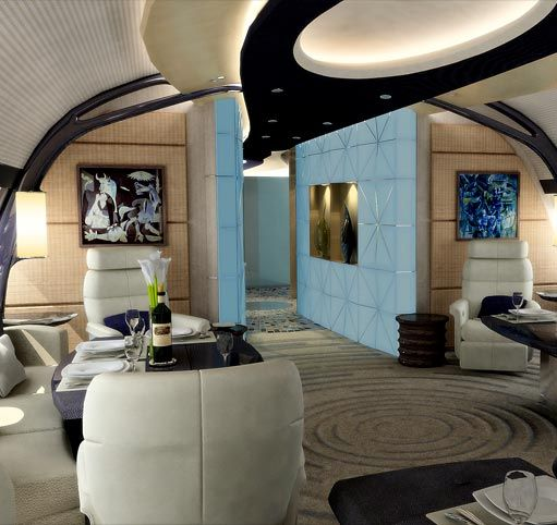 17 best images about vip on pinterest private jet for Aircraft interior designs
